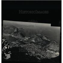 Press Photo Aerial View City Rio De Janeiro Brazil - RRX69231