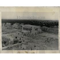1930 Press Photo Egypt Luxor Palms Nile - RRX62145