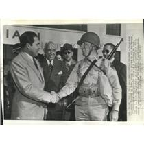 1942 Press Photo President Fulgenoio Batista of Cuba - RRX84549