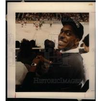 1988 Press Photo Detroit Pistons John Sally - RRX38681