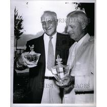 1961 Press Photo Fred l Riggin Sr Detroit Golf Club. - RRX59277