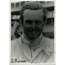 1971 Press Photo Peter Revson Race Car Driver - RRW74209