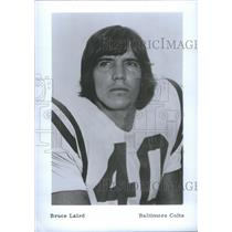 Press Photo Bruce Allan Laird Baltimore Colts Bowl Defensive San Diego Chargers