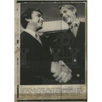 1971 Press Photo Marty Howe Toronto Marlboros Tom Smythe - RSC29151