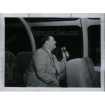 1951 Press Photo Alex Dreier American News Reporter - RRX43225