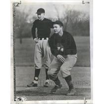 1946 Press Photo Bill Butler John Neal Bloomington High School Club - RSC28967