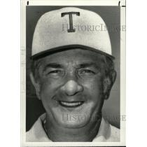 1988 Press Photo Jack Castignola Trenton football coach - RRW82437
