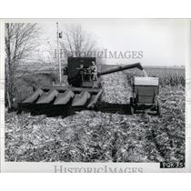 1962 Press Photo McCormick 403 Combine Harvester