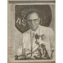 1975 Press Photo Bill Verdon Named Manager For Houston Astros - RSC29091
