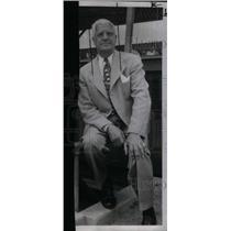 1950 Press Photo Will Harridge American League Pres. - RRX38797
