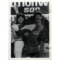 1986 Press Photo Neil Bonnett American NASCAR Driver - RRW74111