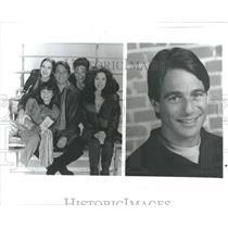 1997 Press Photo Tony Danza Tony DiMeo sportswriter