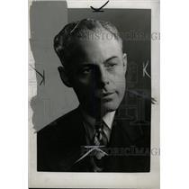 1946 Press Photo Jack Tompkins American Michigan Game - RRW79973