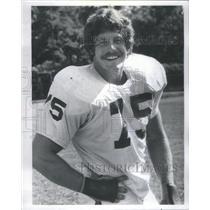 1976 Press Photo JEFF SEVY FOOTBALL PLAYER LINEMAN NFL - RSC31863