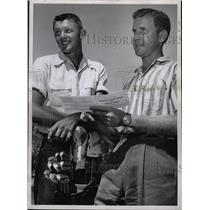1960 Press Photo Les Fowler, popular Golfer. - RRW16703