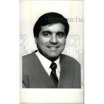 1987 Press Photo Ypsilanti High Coach Bill Giarmo - RRX38625