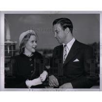 1947 Press Photo William Clay Ford & Wife, MArtha. - RRX56607