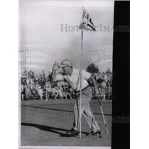 1958 Press Photo Los Angeles Golf lead Stan Dudas - RRW73489