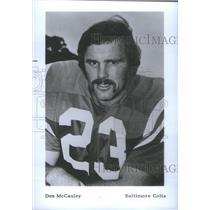1974 Press Photo Don McCauley Baltimore Colts - RSC26295