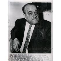 1961 Press Photo Landau New York City jewelry salesman