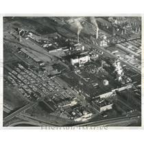 1964 Press Photo Aerial View of the Big Yerkes Plant - RRX84127