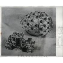 1960 Press Photo Easter Egg Nicholas Alexandra Moscow