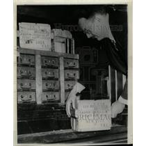 1938 Press Photo Multum Parvo Bureau Washington Radium - RRX72099
