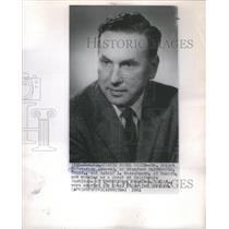 1961 Press Photo Robert Hofstadter Stanford University California Rudolf Munich