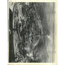 1934 Press Photo Anaconda Copper Mining Aerial View - RRX93639