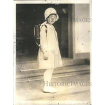 1932 Press Photo Shigeko Teru-No-Miya Daughter Emperor Empress Japan School Day