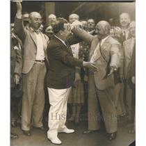1931 Press Photo Greeter Gaw Albert Werner Berlin Germany homelands- RSA97997