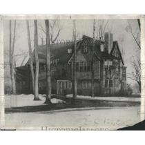"1930 Press Photo ""The Beeches"" President Calvin Coolidge home - RSC32913"