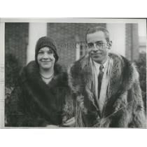 1929 Press Photo Florence Trumbull & John Coolidge - RSC32931