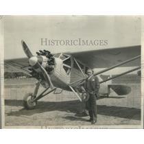 1930 Press Photo Gov. Walter J. Kohler and his plane - RSC33319