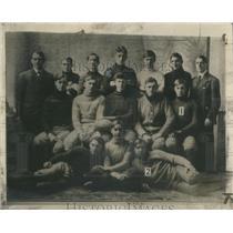 1943 Press Photo Dwight Eisenhower & Edgar Eisenhower in 1908 - RSC33445