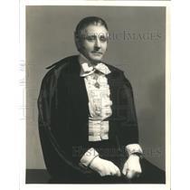 1936 Press Photo Charles Roman, Actor - RSC39201