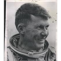 1962 Press Photo Astronaut Walter Schirra - RSC39469