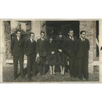 1928 Press Photo Irving Foy Clown King - RSC42829
