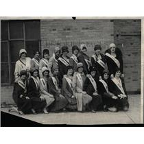 1929 Press Photo Typical American Girl Contest Denver - RRX76171