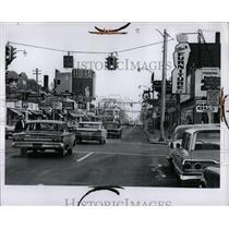 1965 Press Photo Michigan Fermdale Streets - RRW67883
