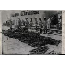 1947 Press Photo Guns Dominican Expeditionary Forces - RRW77067