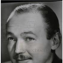 1948 Press Photo Jack Bailey radio commentator - RRW75943
