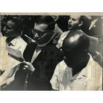 1964 Press Photo Civil Right Rally - RRW05047