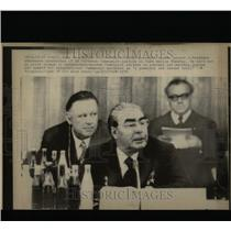 1976 Press Photo Communist Party Conference Germany