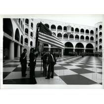 1993 Press Photo Civil War uniforms Citel anniversary - RRW69409