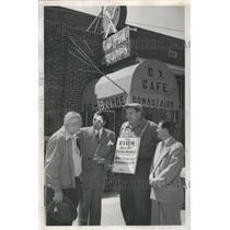 1952 Press Photo Mike Pomponio North Denver club Union - RRX87335