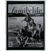 1993 Press Photo Cover page magazine Family Life issue - RRX35571