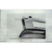 1966 Press Photo Westinghouse Tip Toe Steam pleats iron - RRX43739