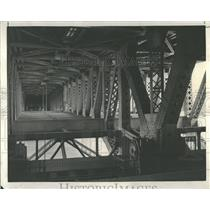 1937 Press Photo Michigan Avenue bridge Outer Drive