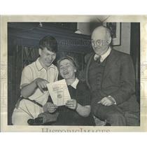 1942 Press Photo Richard Marburger spelling Bee winner